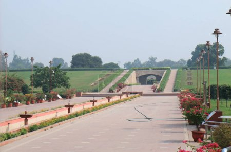 Rajghat historical site New Delhi