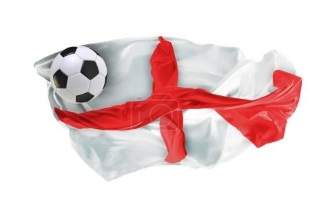 The national flag of England. FIFA World Cup. Russia 2018