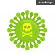 Stop deadly virus spread vector icon...