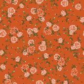 Vintage flower  pattern vector illustration