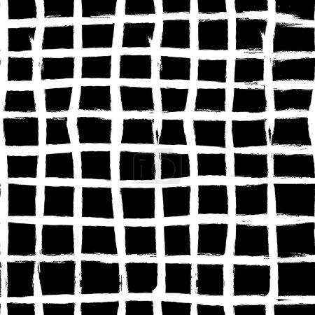 grunge seamless cage background