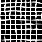 Grunge seamless cage background hand drawn squares