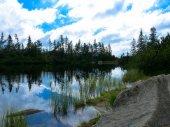 Lake Jamske pleso in Tatras mountains.