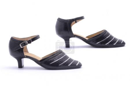 low heel shoes for children isolated
