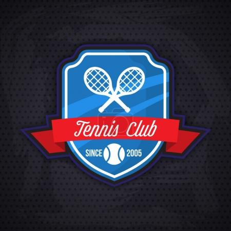 Tennis club logo template