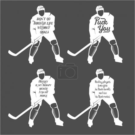 Collection of hockey motivational quotes