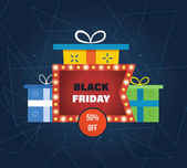 Black Friday discounts and special offers on shopping gifts