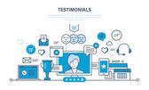 System reviews specifications letters of recommendation and reports ratings evaluation
