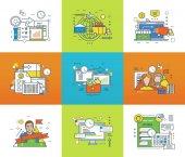 Statistics and analysis shopping planning marketing management communication teamwork