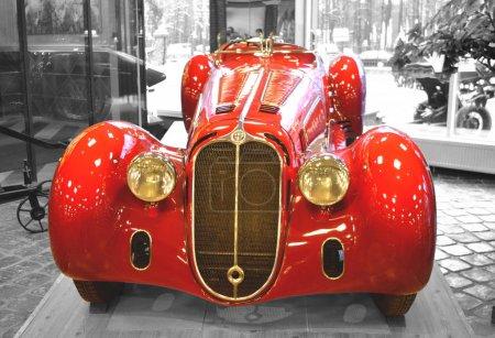 MOSCOW, RUSSIA - JANUARY 6, 2018: Vadim Zadorozhny Technology Museum, vintage car Alfa Romeo model 8C2900B