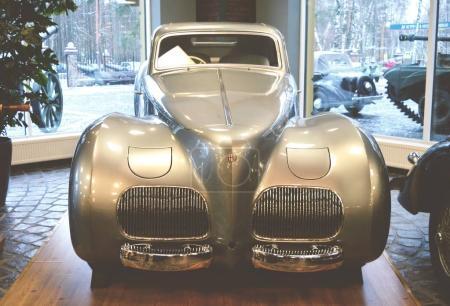 MOSCOW, RUSSIA - JANUARY 6, 2018: Vadim Zadorozhny Technology Museum, car Alfa Romeo model 6C2500 SS