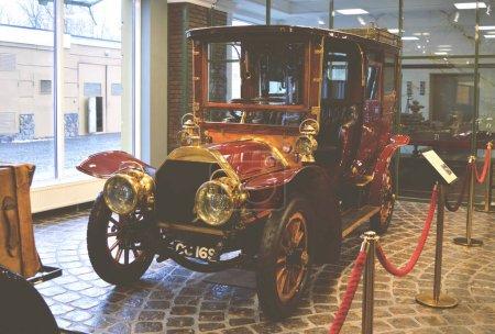 MOSCOW, RUSSIA - JANUARY 6, 2018: Vadim Zadorozhny Technology Museum, car Berliet series C-2 model 22 CV