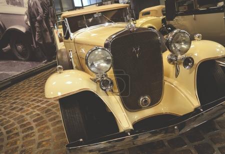MOSCOW, RUSSIA - JANUARY 6, 2018: Vadim Zadorozhny Technology Museum, car Cadillac V16