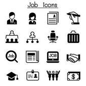 Sada úloha  zaměstnání ikon vektorové ilustrace grafický design