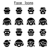 Human Face icon set