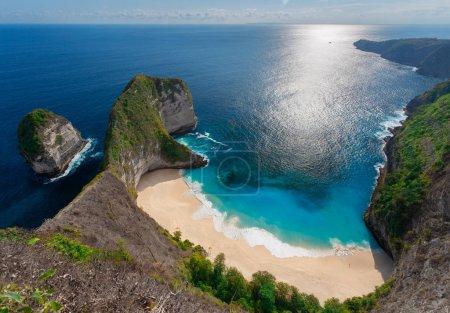 Kelingking beach at Nusa Penida