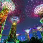 Singapore, Singapore - 16 October, 2017: Supertree...