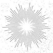 Light rays of burst Sunburst design elements