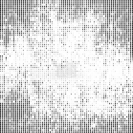 Halftone Textured white template