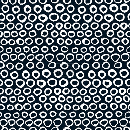 pattern with white circles