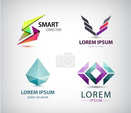 set of different logos