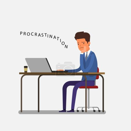 Concept of business procrastination
