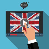 Concept of learning languages online