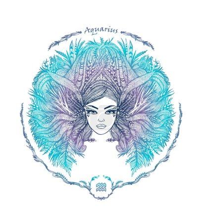 Zodiac sign. Aquarius