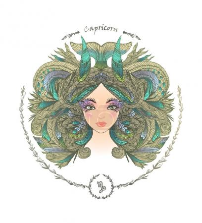 Zodiac sign. Capricorn