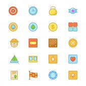 Sports Colored Vector Icons 9