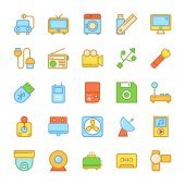 Set of Electronics Vector Icons that are great for designers web design templates android applications or any kind of personal or commercial project
