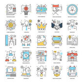 Flat Color Line Icons 5