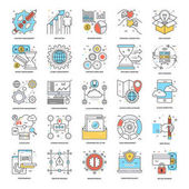 Flat Color Line Icons 8