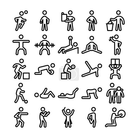 Pictograms Vector Icons 6