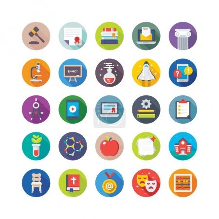 School and Education Vector Icons 2