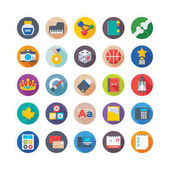 School and Education Vector Icons 7