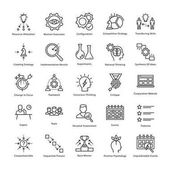 Business Management and Growth Vector Line Icons 11