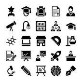 School and Education Vector Icons 11