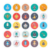 Robotics Colored Icons