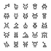 Robotic Vector Line Icons