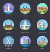 World Cities and Tourism Illustration 3