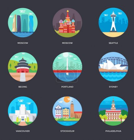 World Cities and Tourism Illustration 2