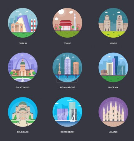 World Cities and Tourism Illustration 9