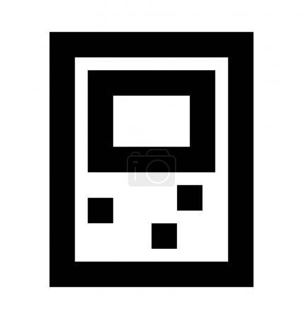 Spiel Junge Vektor-Symbol