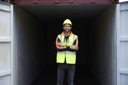 Docker guy in work wear