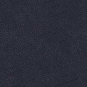 Texture of dark blue leather on macro. Seamless square backgroun