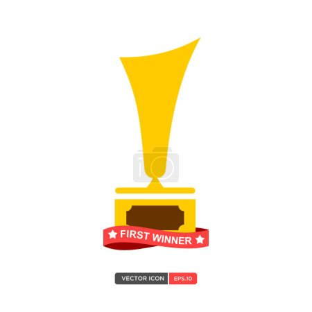 First Winner Trophy