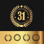 Golden Laurel Wreath 31 Anniversary