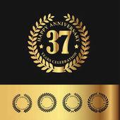 Golden Laurel Wreath 37 Anniversary