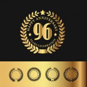 Golden Laurel Wreath 96 Anniversary
